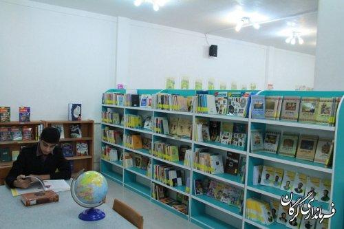 بزرگترین کتابخانه تخصصی کودک و نوجوان در گرگان افتتاح شد