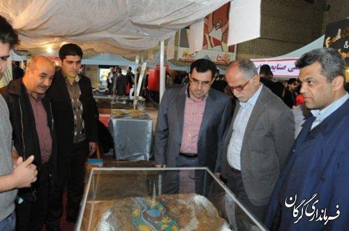 برپایی نمایشگاه دستاوردهای علمی پژوهشی شرکت آب منطقه ای گلستان