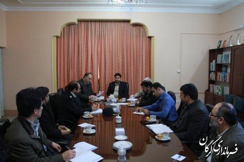 سومین جلسه شورای هماهنگی ثبت احوال شهرستان گرگان برگزار شد