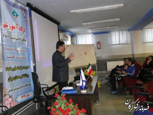 کارگاه آموزشی مهارتهای زندگی در گرگان برگزار شد