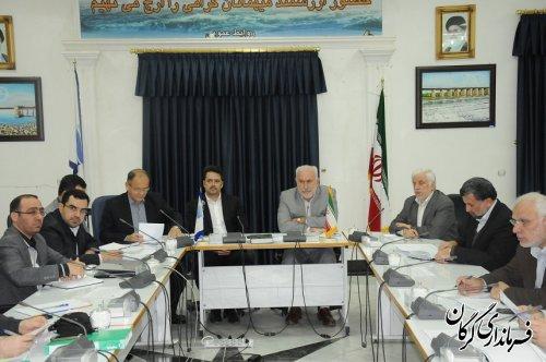 نشست هم اندیشی و توسعه سرمایه گذاری استان گلستان در شرکت آب منطقه ای برگزار شد