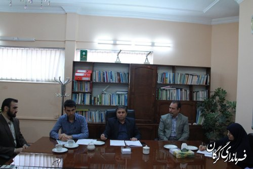 جلسه کارگروه تخصصی سازمانهای مردم نهاد در مدیریت بحران شهرستان گرگان برگزار شد