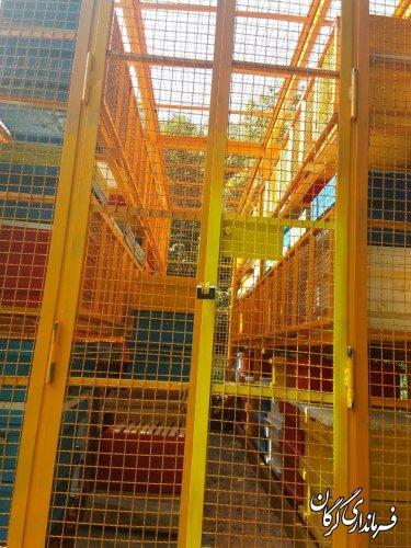 نصب و راه اندازی اولین واگن مکانیزه کندوی عسل در شهرستان گرگان