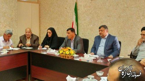 جلسه شورای آموزش و پرورش شهرستان در اداره آموزش و پرورش گرگان برگزار شد