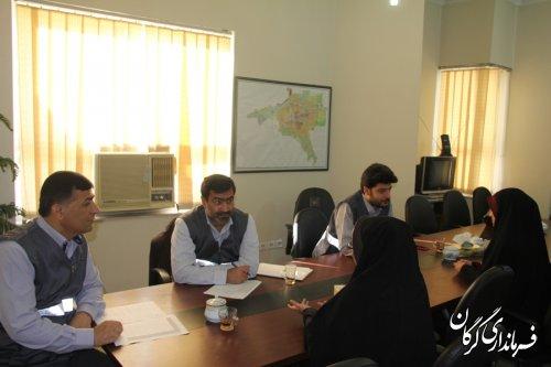 مصاحبه از داوطلبان جهت انتخاب مأمورین سرشماری نفوس ومسکن درفرمانداری گرگان