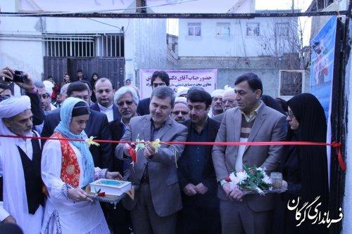 آیین افتتاح مرکز تخصصی صنایع دستی اقوام(سیستانی) در شهر گرگان برگزار شد