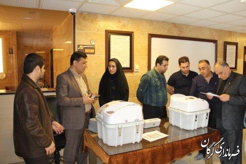 برگزاری مانور انتخابات الکترونیکی بصورت شبیه سازی شده در شهر گرگان