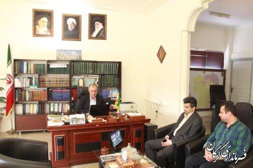 شبکه دولت در شهرستان گرگان تا سطح دهیاری ها ارتقاء می یابد