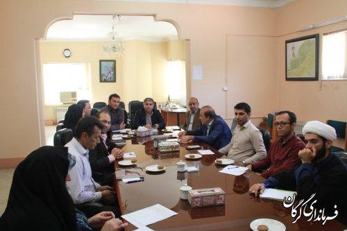 پنجمین دوره انتخابات تعیین نماینده سازمانهای مردم نهاد در هیأت نظارت گرگان برگزار شد
