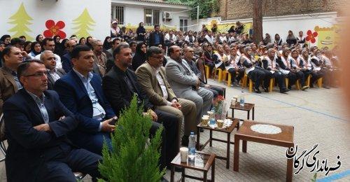مراسم جشن عاطفه ها در مدرسه دخترانه شایستگان گرگان برگزار شد