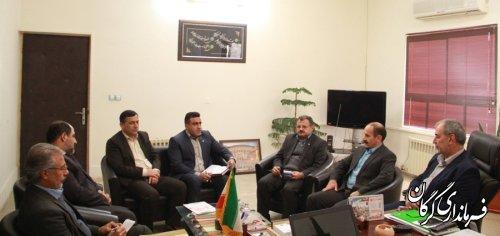 مدیر عامل پست بانک استان گلستان با فرماندار شهرستان گرگان دیدار و گفتگو کرد