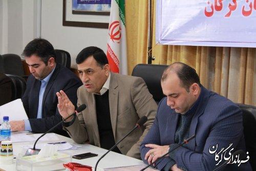 جلسه هماهنگی ستاد خدمات سفر شهرستان گرگان برگزار شد