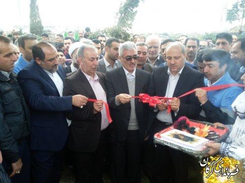 آیین افتتاحیه متمرکز دهکده های گردشگری و نوروزگاه های استان برگزار شد