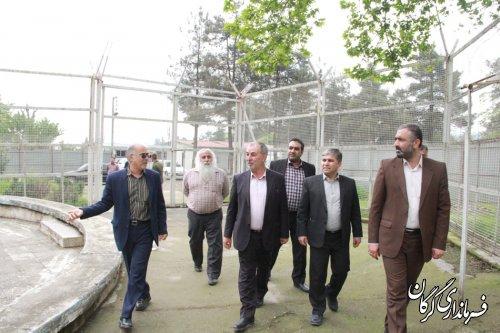 فرماندار شهرستان گرگان از کمپ ماده 16 توسکستان بازدید کرد