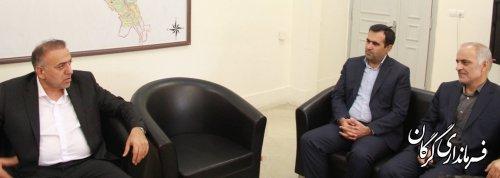 نشست فرماندار گرگان با مدیران برق مناطق شرق و غرب شهرستان گرگان
