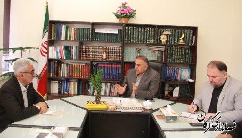 نشست نمایندگان مردم شریف گرگان و آق قلا با فرماندار مرکز استان برگزار شد