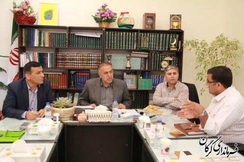 ملاقات مردمی و هفتگی سرپرست فرمانداری شهرستان گرگان با مردم برگزار شد