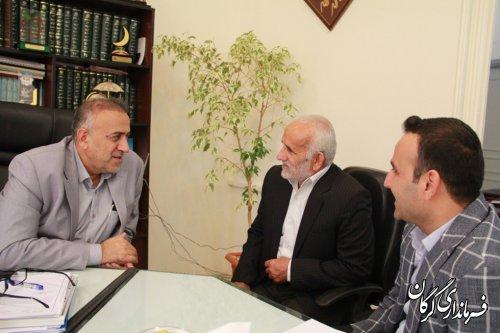 دیدار مردمی فرماندار شهرستان گرگان با مردم برگزار شد