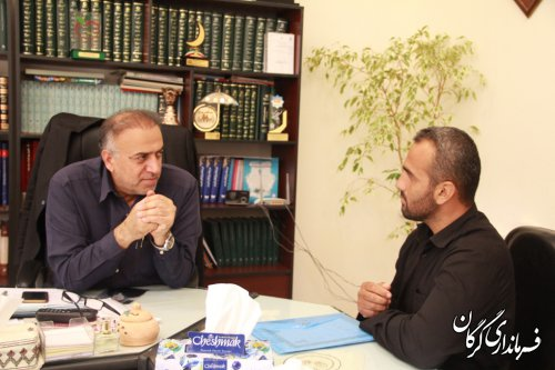 ملاقات مردمی سرپرست فرمانداری شهرستان گرگان با مردم برگزار شد