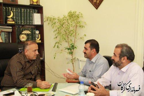 ملاقات مردمی سرپرست فرمانداری شهرستان گرگان برگزار شد