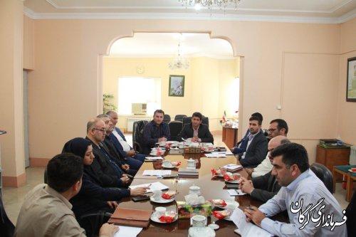جلسه کمیسیون دانشجویی شهرستان گرگان برگزار شد