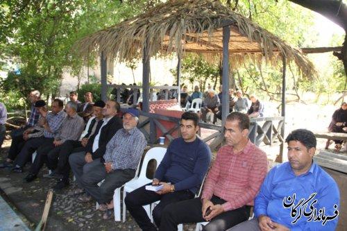 مراسم روز روستا در روستای کفشگیری از توابع بخش مرکزی گرگان برگزار شد
