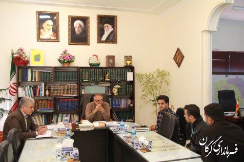 فرماندار شهرستان گرگان با مردم به صورت چهره به چهره دیدار کرد