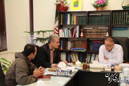 ملاقات عمومی سرپرست فرمانداری شهرستان گرگان با مردم برگزار شد