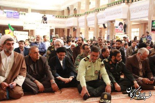 مراسم راهپيمايي يوم الله 13 آبان در شهرستان گرگان برگزار شد