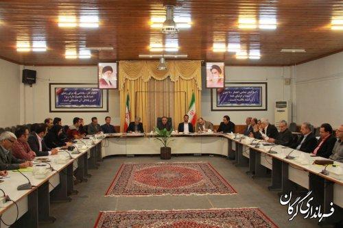 نشست فرماندار شهرستان گرگان با فعالین گردشگری و میراث فرهنگی برگزار شد