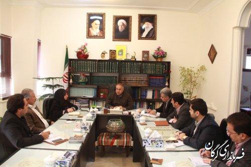 جلسه شورای معاونین فرمانداری شهرستان گرگان برگزار شد