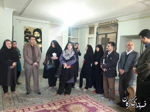 بازدید از مرکز ترک اعتیاد بانوان در شهر گرگان