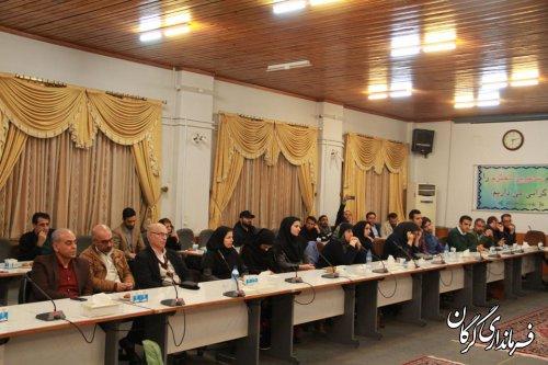 نشست و گفتگوی صمیمانه سرپرست فرمانداری گرگان با هنرمندان شهرستان برگزار شد