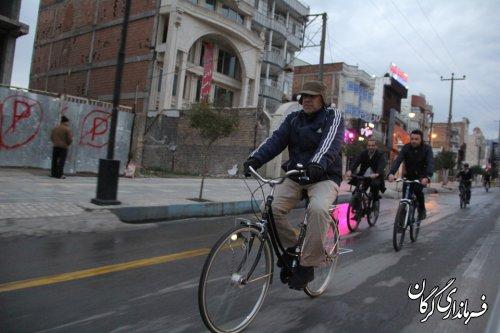 فرماندار گرگان به کمپین سه شنبه های بدون خودرو پیوست