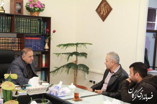 دیدار مردمی فرماندار شهرستان گرگان برگزار شد