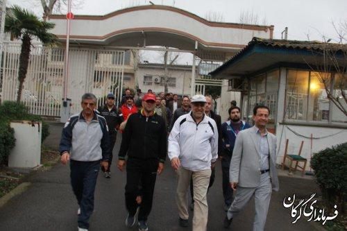 حضور مدیران دستگاه های اجرایی و فرماندار شهرستان گرگان در سه شنبه های بدون خودرو