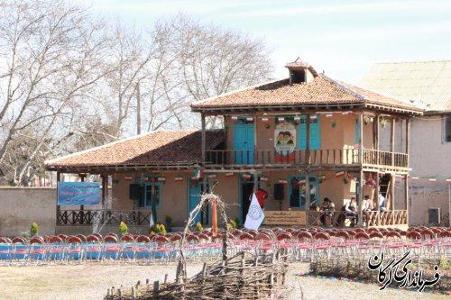 نمایشگاه توانمندی و دستاوردهای روستاییان بخش مرکزی گرگان افتتاح شد