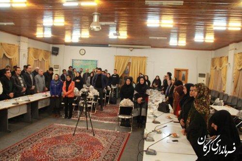 نشست صمیمی فرماندار شهرستان گرگان با فعالان اجتماعی و سازمانهای مردم نهاد