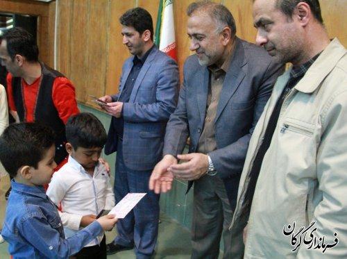 جشن استقبال از بهار ویژه کودکان بیمارستان طالقانی گرگان برگزار شد
