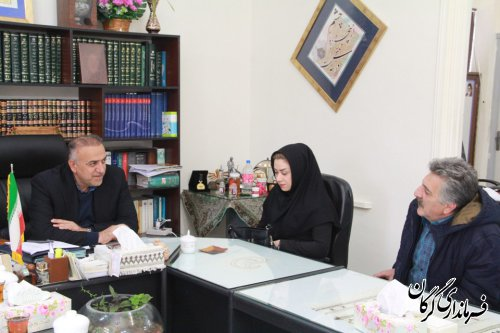 اولین ملاقات مردمی فرماندار شهرستان گرگان با مردم در سال 98 برگزار شد
