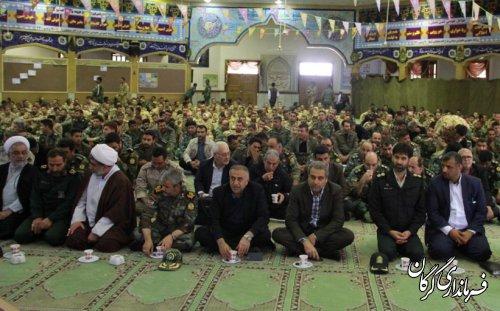 مراسم گرامیداشت بیستمین سالگرد شهادت سپهبدصیاد شیرازی در گرگان برگزار شد