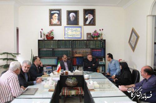 فرماندار شهرستان گرگان با مردم بصورت چهره به چهره دیدار کرد