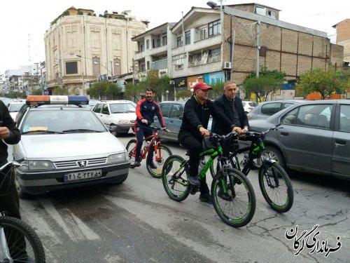 استمرار فرماندار شهرستان گرگان در سهشنبه های بدون خودرو