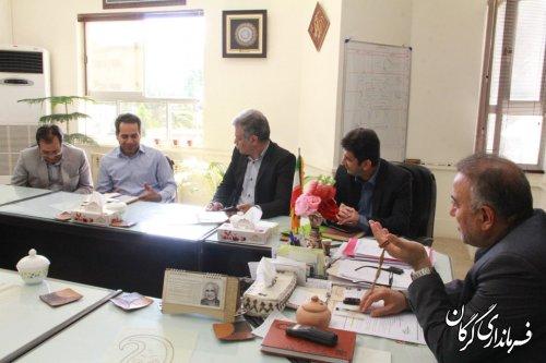 ملاقات عمومی فرماندار شهرستان گرگان با مردم برگزار شد