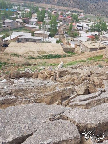 روستای تاریخی شاهکوه سفلی سنگ فرش می شود