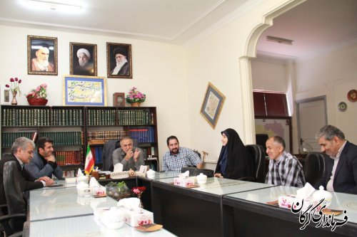ملاقات مردمی فرماندار شهرستان گرگان با مردم برگزار شد