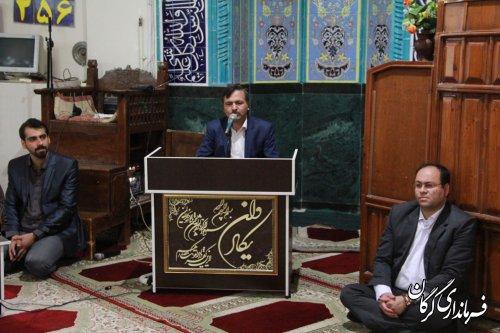 نشست صمیمی فرماندار شهرستان گرگان با شوراهای اسلامی و دهیاران بخش بهاران برگزار شد