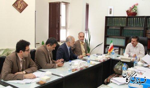جلسات توزیع اعتبارات تملک دارایی سرمایه ای دستگاه های اجرایی در فرمانداری گرگان برگزار شد