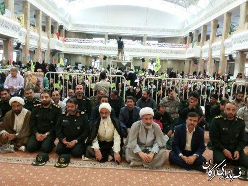 اجتماع بزرگ دختران انقلاب مدافعان حجاب در گرگان برگزار شد