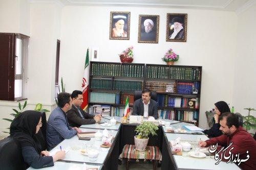 جلسه بررسی ارائه خدمت بین دستگاه ها از طریق شبکه دولت در فرمانداری برگزار شد
